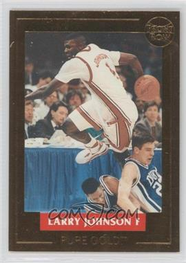 1992 Larry Johnson Pure Gold - [???] #1 - Larry Johnson