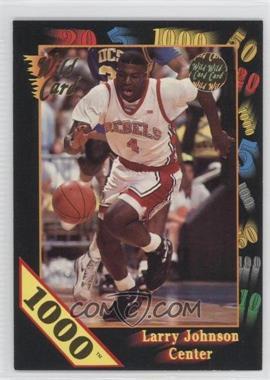 1992 Wild Card Collegiate - [Base] - 1000 Stripe #24 - Larry Johnson