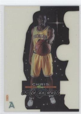 1993-94 Classic Draft Picks Acetate Draft Stars #CHWE - Chris Webber /26000