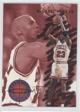 1993-94 Fleer Sharpshooter #3 - Michael Jordan