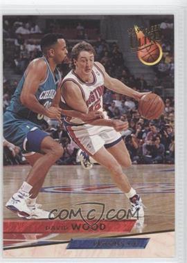 1993-94 Fleer Ultra - [Base] #246 - David Wood