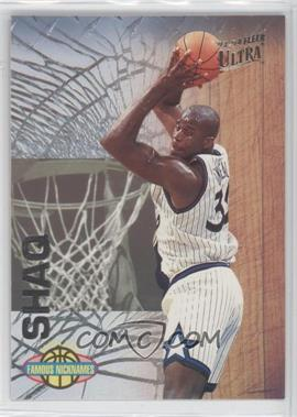 1993-94 Fleer Ultra Famous Nicknames #13 - Shaquille O'Neal