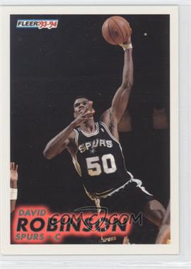 1993-94 Fleer #196 - David Robinson