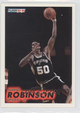 1993-94 Fleer #196 - David Robinson