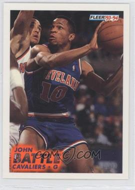 1993-94 Fleer #263 - John Battle