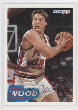 1993-94 Fleer #286 - David Wood