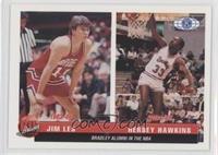 Jim Les, Hersey Hawkins