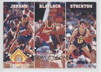 League Leaders Steals (Michael Jordan, Mookie Blaylock, John Stockton)