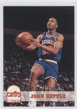 1993-94 NBA Hoops #35 - John Battle