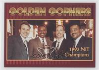 1993 NIT Champions (Milton Barnes, Dan Kosmoski, Dave Thorson, Clem Haskins)