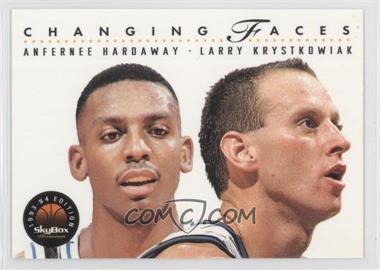 1993-94 Skybox Premium - [Base] #310 - Anfernee Hardaway, Larry Krystkowiak