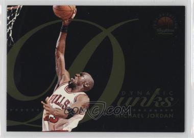 1993-94 Skybox Premium - Dynamic Dunks #D4 - Michael Jordan