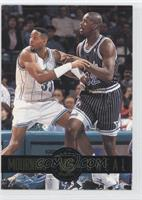 Alonzo Mourning, Shaquille O'Neal