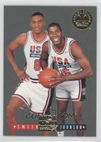 Magic Johnson, Steve Smith
