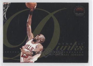 1993-94 Skybox Premium Dynamic Dunks #D4 - Michael Jordan
