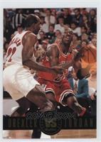 Clyde Drexler, Michael Jordan