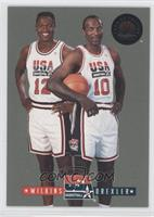 Clyde Drexler, Dominique Wilkins