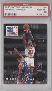 1993-94 Skybox Premium #14 - Michael Jordan [PSA10]