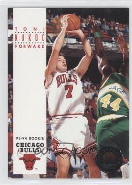 1993-94 Skybox Premium #207 - Toni Kukoc