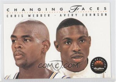 1993-94 Skybox Premium #300 - Chris Webber, Avery Johnson