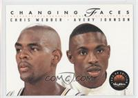 Chris Webber, Avery Johnson