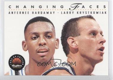 1993-94 Skybox Premium #310 - Anfernee Hardaway, Larry Krystkowiak