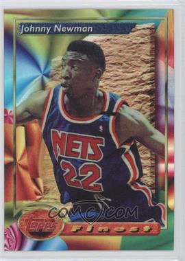 1993-94 Topps Finest - [Base] - Refractor #83 - Johnny Newman