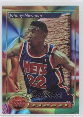 1993-94 Topps Finest Refractor #83 - Johnny Newman