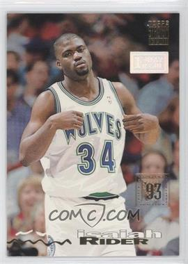 1993-94 Topps Stadium Club - [Base] - 1st Day Issue #234 - Isaiah Rider