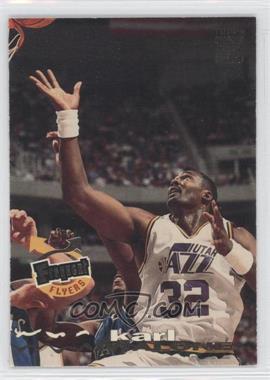 1993-94 Topps Stadium Club - [Base] #186 - Karl Malone