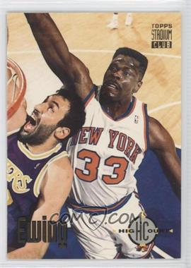 1993-94 Topps Stadium Club #68 - Patrick Ewing