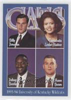 Billy Donovan, Bernadette Locke-Mattox, Delray Brooks, Shaun Brown