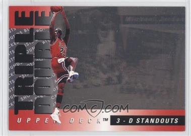 1993-94 Upper Deck 3-D Standouts #TD2 - Michael Jordan