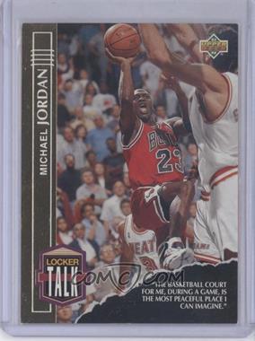 1993-94 Upper Deck Locker Talk #LT1 - Michael Jordan