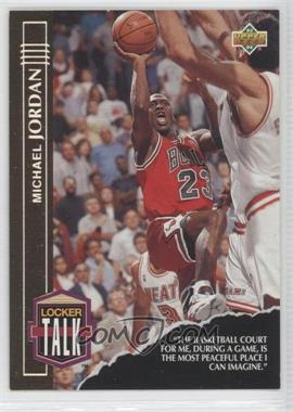 1993-94 Upper Deck Locker Talk #LT1 - Michael Jordan