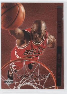 1993-94 Upper Deck Special Edition Behind the Glass #G11 - Michael Jordan