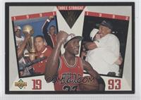 Chicago Bulls Team, Michael Jordan