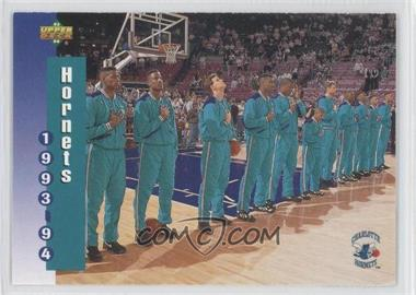 1993-94 Upper Deck #212 - Charlotte Hornets Team