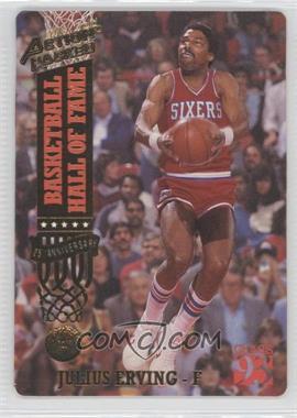 1993 Action Packed Hall of Fame - [Base] - 24 Kt. Gold #50G - Julius Erving