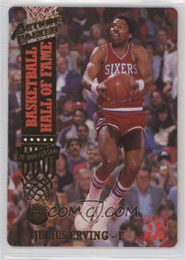 1993 Action Packed Hall of Fame 24 Kt. Gold #50G - Julius Erving