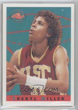 1993 Kellogg's College Greats Postercards [???] #CHMI - Cheryl Miller