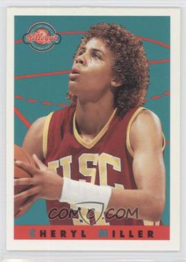 1993 Kellogg's College Greats Postercards [???] #N/A - Cheryl Miller