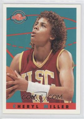 1993 Kellogg's College Greats Postercards #CHMI - Cheryl Miller