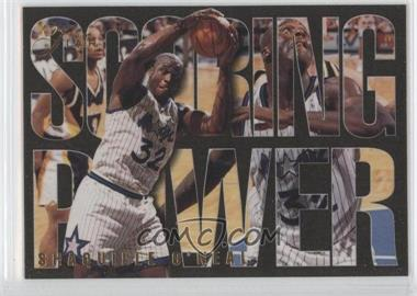 1994-95 Flair Scoring Power #5 - Shaquille O'Neal