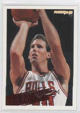 1994-95 Fleer - [Base] #258 - Jud Buechler