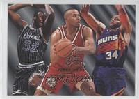 Shaquille O'Neal, Charles Barkley, Clarence Weatherspoon