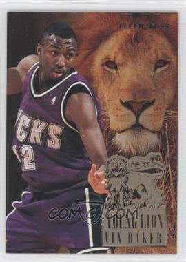 1994-95 Fleer Young Lion #1 - Vin Baker