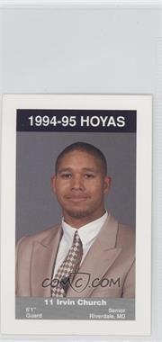1994-95 Georgetown Hoyas Kids & Cops Police #6 - [Missing]
