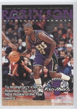 1994-95 NBA Hoops - [Base] #421 - Glenn Robinson, Chris Webber