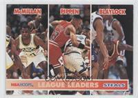 Nate McMillan, Scottie Pippen, Mookie Blaylock